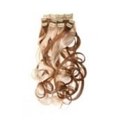 Искусственные волосы (пряди) на заколках. Волнистые.
