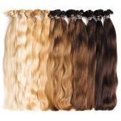 Искусственные волосы на капсулах. Прямые.