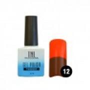 Гель-лак TNL ThermoEffect №12 (Шоколадный/ оранжевый)