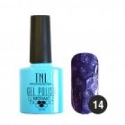 Гель-лак TNL MosaicEffect №14 (Темно-лиловый)